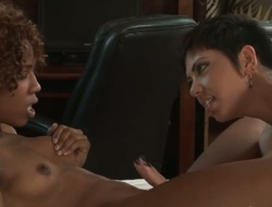 See this interracial lesbian porn scene between Misty Stone and Satine Phoenix to become turned on. Both nymphs look exciting and you should stare at all the stuff they are doing