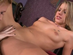 Blonde is a lesbian sex fuck addict that can't live without Babettes cum-hole hole so much