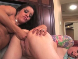 Lesbo milfs Francesca Le and Kylie Ireland are having the best time unfathomable stimusexy one anothers hairless twat